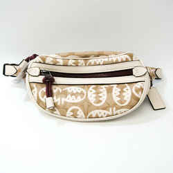 Coach Signature Lexi BY GUANG YU Veil 1507 Unisex PVC,Leather Sling Bag BF533265