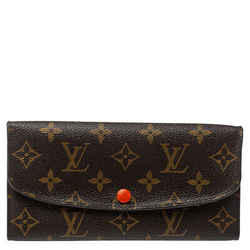 Louis Vuitton Monogram Canvas Emilie Wallet