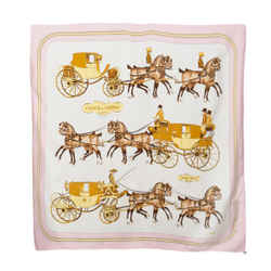 Hermes Coach & Saddle Silk Scarf