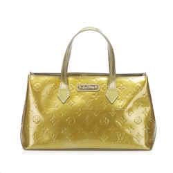 Gold Louis Vuitton Vernis Wilshire PM Bag