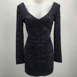Black Halo Lace Dress Size 4