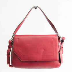Bally Women's Leather Handbag,Shoulder Bag Dark Red BF526280