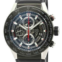 Polished TAG HEUER Carrera Calibre Heuer 01 Steel Mens Watch CAR2A1Z BF521621