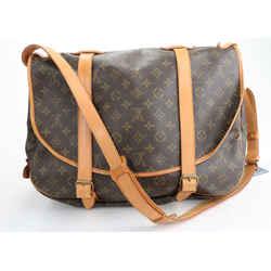 Louis Vuitton Monogram Canvas Saumur 43 Bag