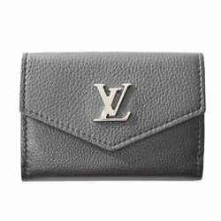 Auth Louis Vuitton Louis Vuitton Taurillon Portofeuil Rock Mini Tri-fold Wallet