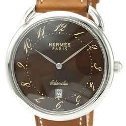 Hermes Arceau Automatic Stainless Steel Men's Dress Watch AR4.810 BF526909