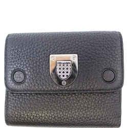 Christian Dior Noir Black Leather Wallet