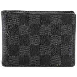 Louis Vuitton Multiple Wallet Damier Graphite Canvas