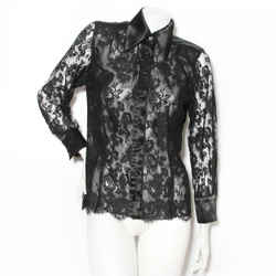 Lacroix Lace Button Up Blouse