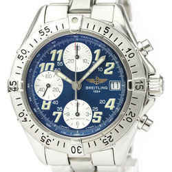 Polished BREITLING Chrono Colt Steel Automatic Mens Watch A13335 BF529368