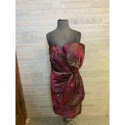 Terani Side Bow Dress