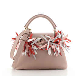 Capucines Bag Limited Edition Leather with Satin Ribbons BB Limited Edition Leather with Satin Ribbons BB