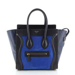 Bicolor Luggage Bag Nubuck Micro