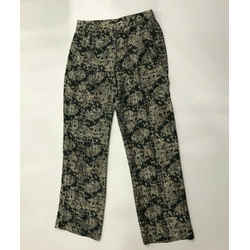 $325 Theory Emmanuel Snake Print Lace Wide Leg Silk Pants 12