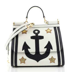 Sailor Miss Sicily Bag Patchwork Leather Small