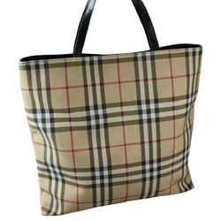 """Burberry Classic Beige Tote Bag 15""""l X 13""""h X 5""""w"""
