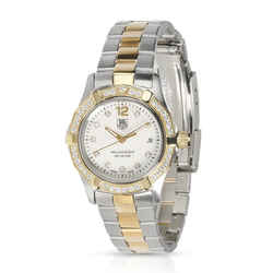 Tag Heuer Aquarace WAF1450.BB0825 Women's Watch in 18kt Stainless Steel/Yellow G