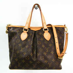 Louis Vuitton Monogram Palermo PM M40145 Women's Shoulder Bag Monogram BF340346