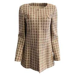 Chanel Beige / Ivory Tweed Blazer