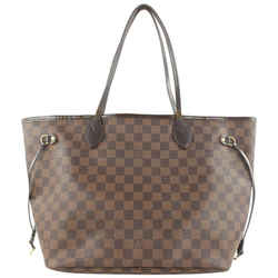Louis Vuitton Damier Ebene Neverfull MM Tote Bag 45lvs423