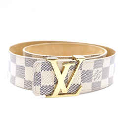 Louis Vuitton LV Initials Damier Azur Belt Size 80/32