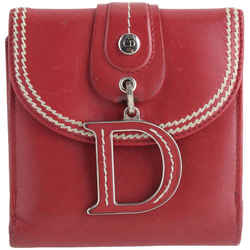 Christian Dior D Charm Trifold Wallet