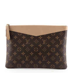 Daily Pouch Monogram Canvas