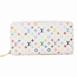 Auth Louis Vuitton Louis Vuitton Multi Zippy Wallet Multicolor Pvc