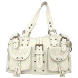MulberryWhite Leather Roxanne Bag 861573