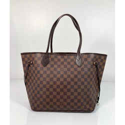 Louis Vuitton Damier Ebene Neverfull MM Tote Shoulder Handbag