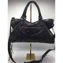 Balenciaga Size M/L Black Crossbody