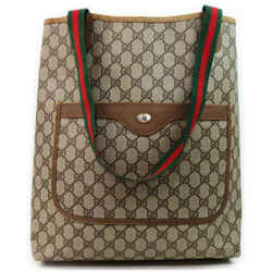 Gucci Web GG Supreme Large Shopping Tote 861205