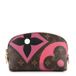 Cosmetic Pouch Limited Edition Game On Monogram Canvas