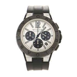 Diagono Magnesium Automatic Watch Ceramic and Rubber 42