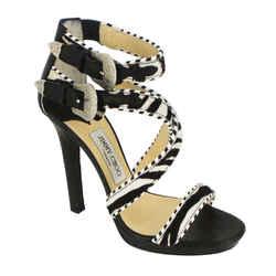 Jimmy Choo | Zebra Ponyhair Sandals