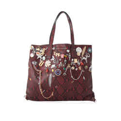 Pre-Owned Marc Jacobs Embellished Wingman Shopping Bag