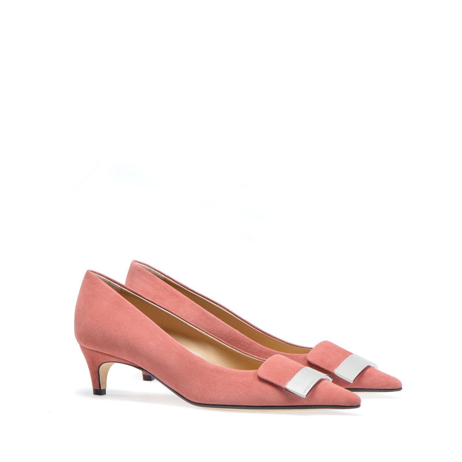 sergio rossi pink pumps