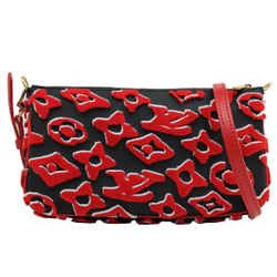 Louis Vuitton Black and Red LVxUF Pochette Accessoires