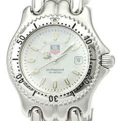 Polished TAG HEUER Sel Professional 200M Steel Quartz Watch WG1312 BF526475