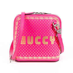 Gucci Bag Mini Guccy Pink Gold Leather Crossbody