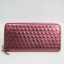 Christian Louboutin Panettone Women's Patent Leather Long Wallet (bi-fo BF524011