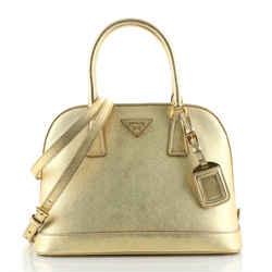 Open Promenade Bag Saffiano Leather Medium