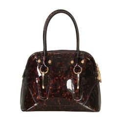 Stuart Weitzman Patent Satchel Bag