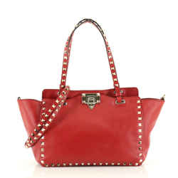 Rockstud Tote Soft Leather Small