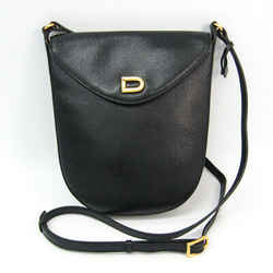 Delvaux Women's Leather Shoulder Bag Black Bf509321