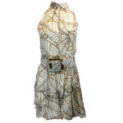 NICHOLAS Ivory Selima Cocktail Dress