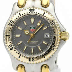 Polished TAG HEUER Sel 200M Gold Plated Steel Ladies Watch WG1320 BF508080
