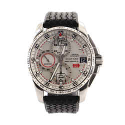 Mille Miglia Gran Turismo Chronograph Watch Stainless Steel and Rubber 44