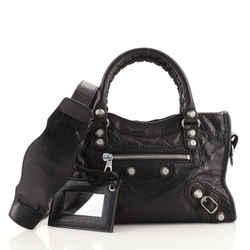 City Giant Studs Bag Leather Mini