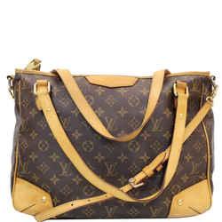 Louis Vuitton Estrela Mm Monogram Canvas Shoulder Bag Brown